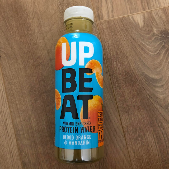 upbeat water bottle sent in degustabox