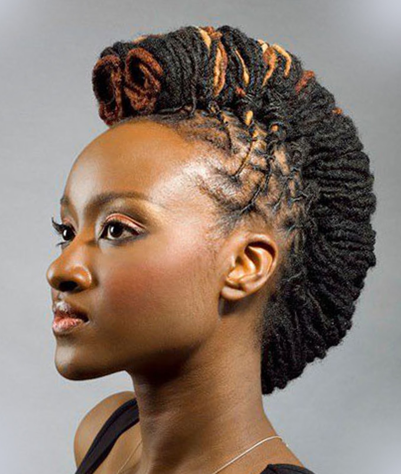 Mohawk Styles For Black Women 2016 Hairstyles Spot
