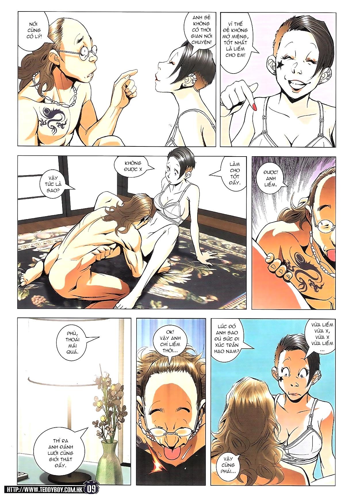 Người Trong Giang Hồ chapter 1784: cự long ngủ say trang 7