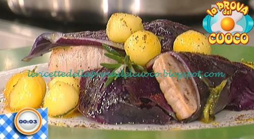 Bocconcini di maiale con mele e cavolo cappuccio ricetta Della Croce da Prova del Cuoco
