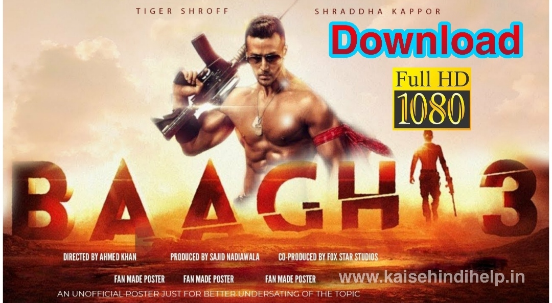 Baaghi 3 Full Movie Download HD 1080p