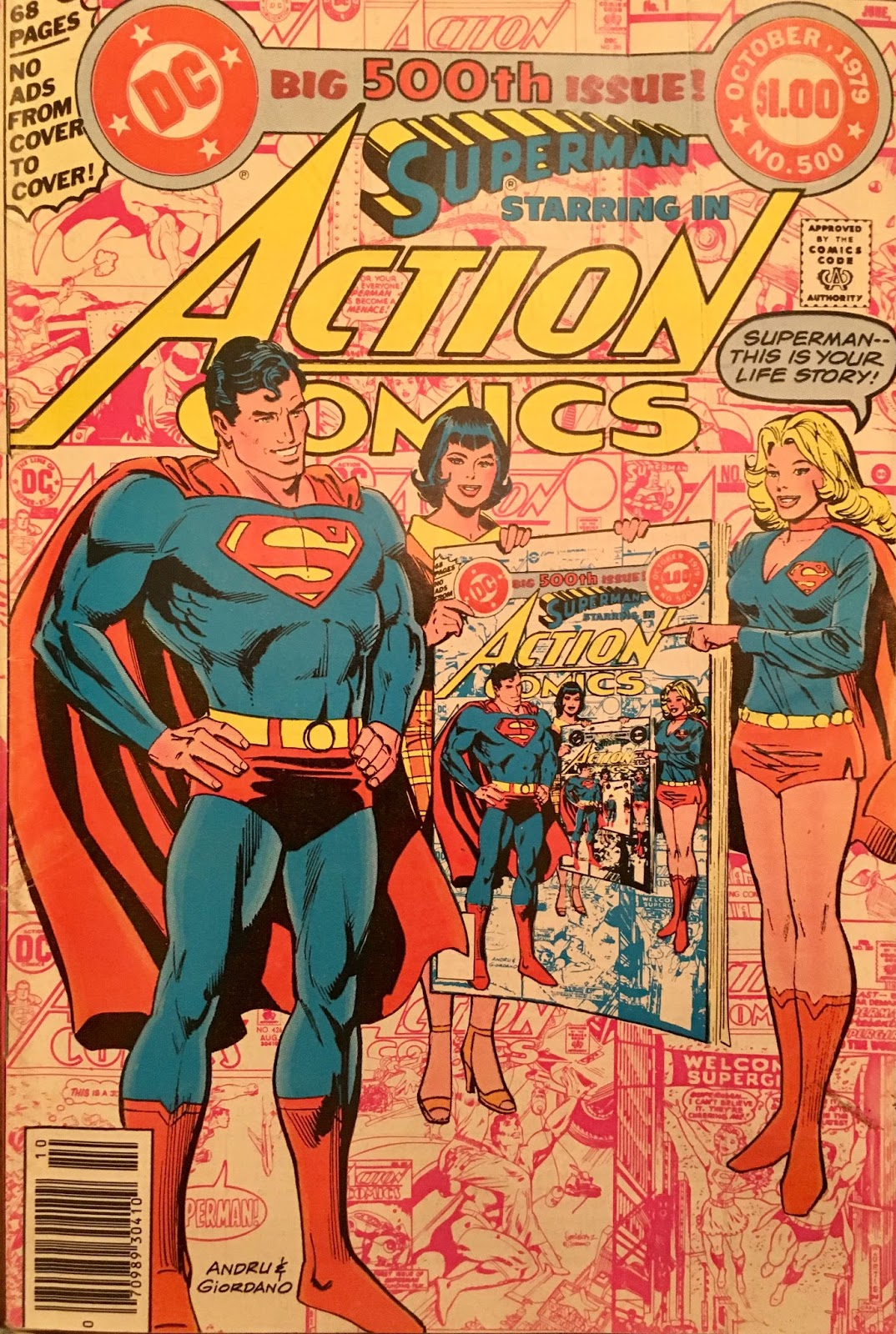 Chris is on infinite earths action comics 500 1979 tuesday june 13 2017 fandeluxe Gallery