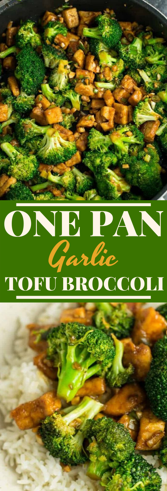 BROCCOLI TOFU STIR FRY #vegan #dinner #recipes #chinese #tofu