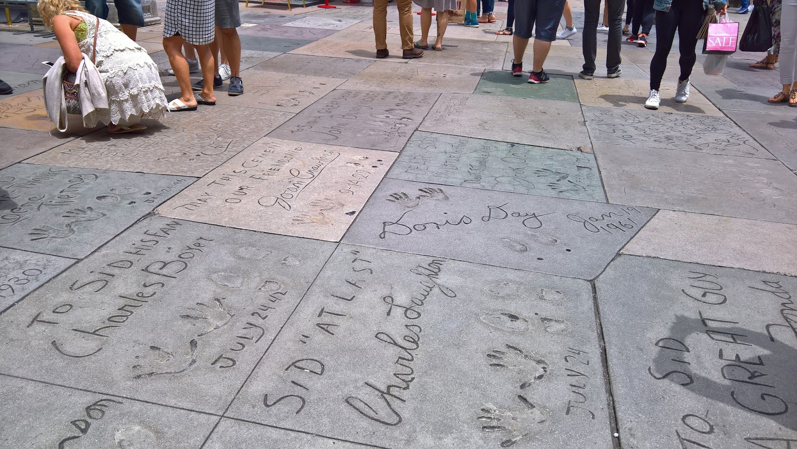 jalanjäljet Walk of Fame Hollywood Los Angeles Mallaspulla matkakertomus