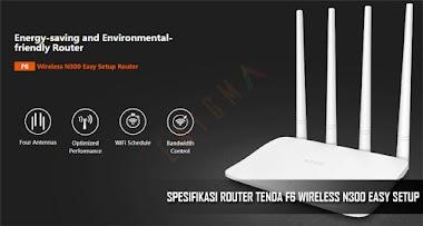 Spesifikasi Router Tenda F6