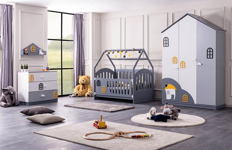 İlgi Çekici Montessori Çocuk Odası Modelleri