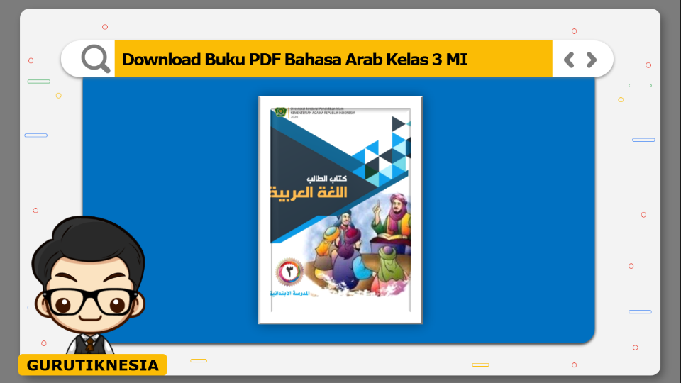 download buku pdf bahasa arab kelas 3 mi
