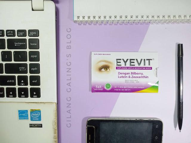 Eyevit Vitamin Mata Aman dan Halal
