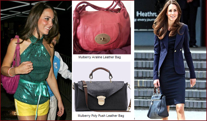Canada Kate Has Been Seen On Many Occasions With Mulberry Bags She Used The Mulberrys