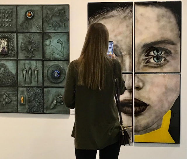 Michael Janis at Pulse Art Fair 2019 Miami Beach