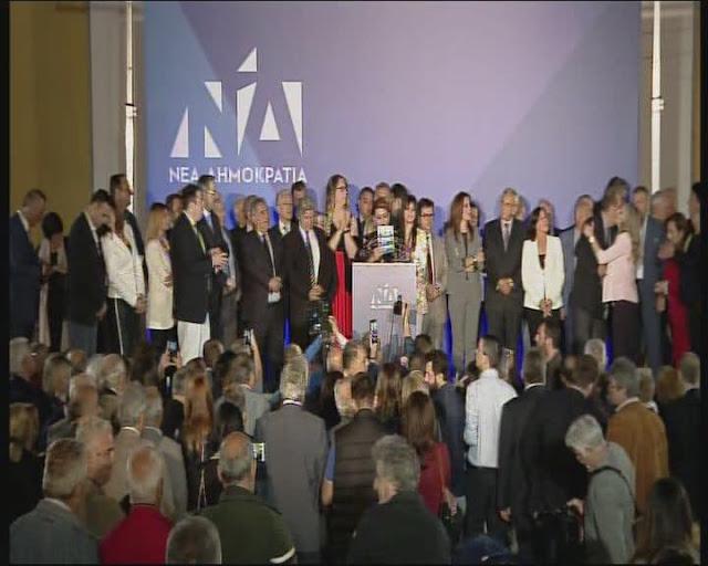 Αντώνης Σαμαράς& Παναγιώτης Νίκας Ενωμένοι για την καθαρή νίκη στις εκλογές