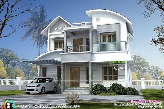 2145 square feet modern home design