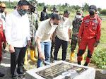 Wabup Humbahas Hadiri Peresmian Jembatan Harapan Aek Silang di Sipituhuta