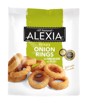 Films and Veganism: Alexia Onion Rings: Product Review