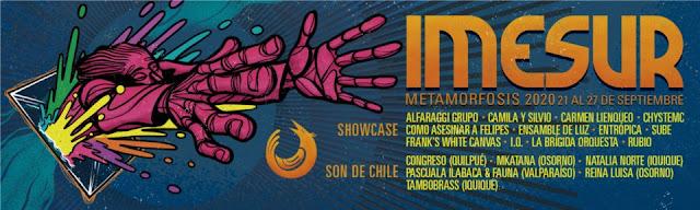 IMESUR: Metamorfosis anuncia cartel de artistas para la versión 2020
