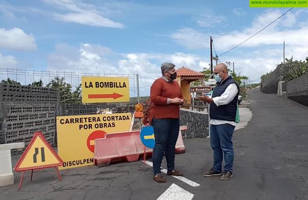 Los Llanos de Aridane inicia las obras de asfaltado del Camino Puerto Naos – La Bombilla