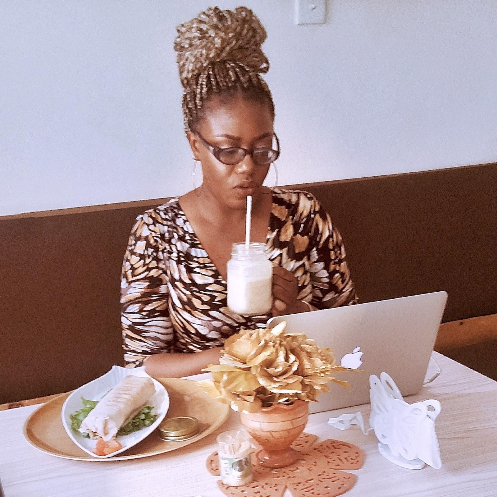 Alone-Time At Nutrihit Cafe