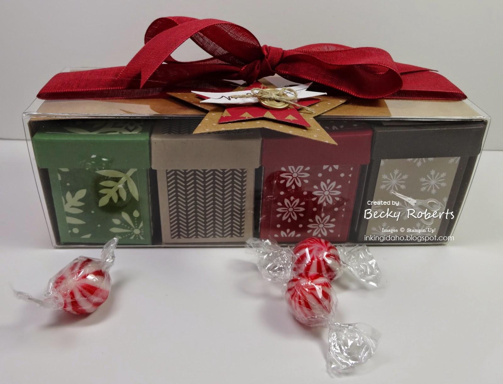 Inking Idaho Tag A Bag Gift Box With Mini Boxes