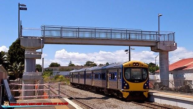 Stasiun Kereta Api Glen Eden - New Zealand