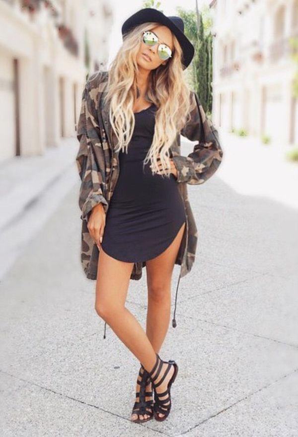 73350856d7 Lindos vestidos de moda color negro