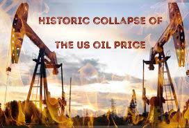 "The price of a barrel of US oil fell sharply during Monday's trading, by more than 306%, recording the lowest level in its history.   Reuters reported that US crude futures tumbled 306% as the price of a barrel was $ 37.63 below zero, by 18.34 GMT.   This is the lowest level recorded by US crude, ""West Texas Intermediate"" in history."