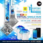 Electric Jakarta Marathon – Virtual Run • 2018