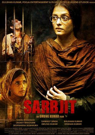 Poster of Sarbjit Full Hindi Movie Download Hd