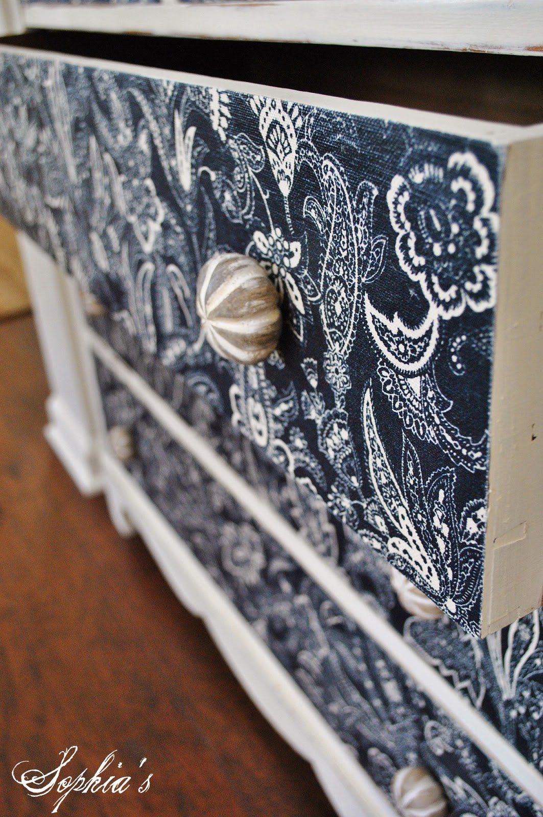chair covers by ruth hanging in room diy sophia 39s dresser makeover with fabric