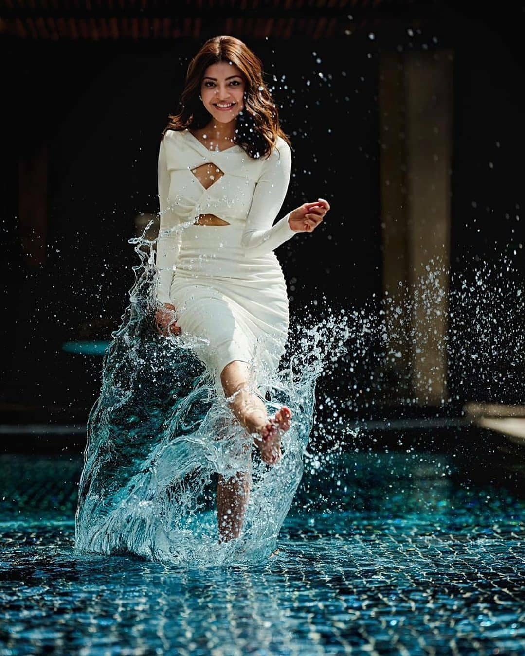 Actress Kajal Agarwal Latest Hot Photos
