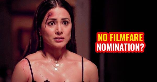 hina khan filmfare award no nomination