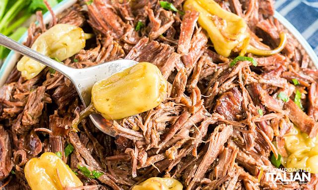 Mississippi Pot Roast (5 Ingredients)