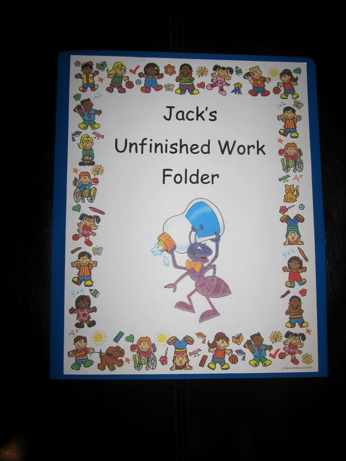 The Lower Elementary Cottage: Student Work Folders