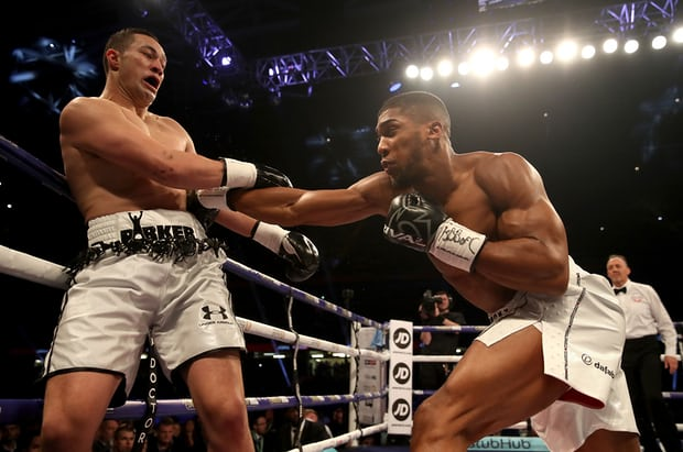 BREAKING NEWS: Anthony Joshua become history-maker By Holding WBA 'Super', WBO and IBF holder.