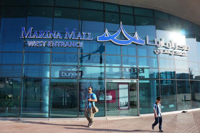 shopping Marina Mall, em Abu Dhabi