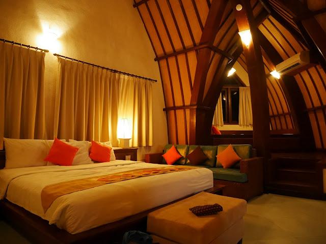 Kamar di Deluxe Bungalow