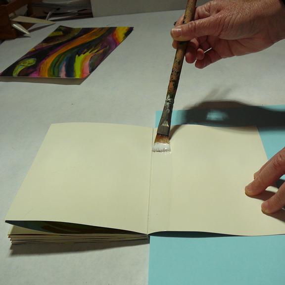 how to put on bindings