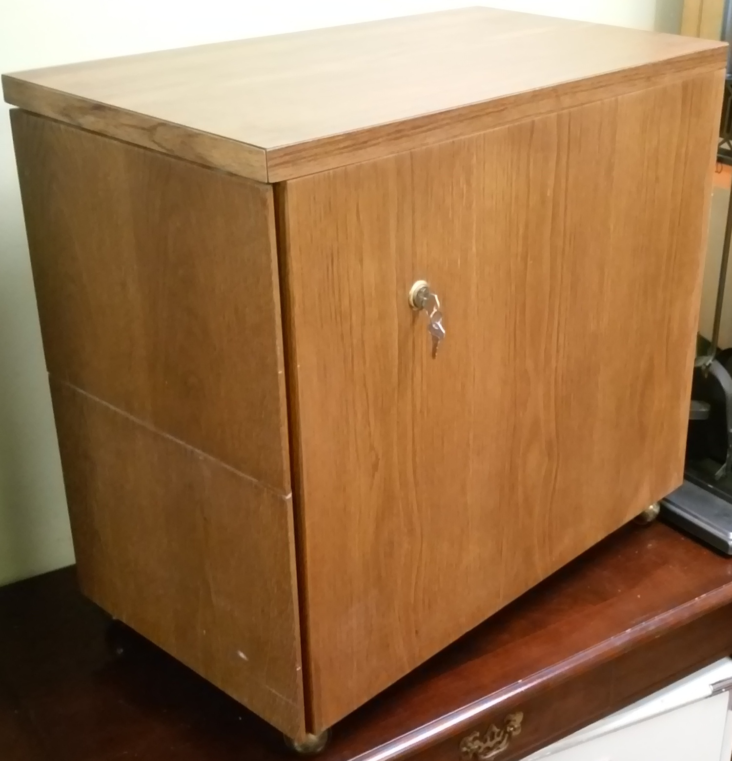 UHURU FURNITURE & COLLECTIBLES: SOLD - Vintage 2-Drawer ...