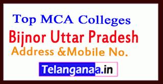 Top MCA Colleges in Bijnor Uttar Pradesh