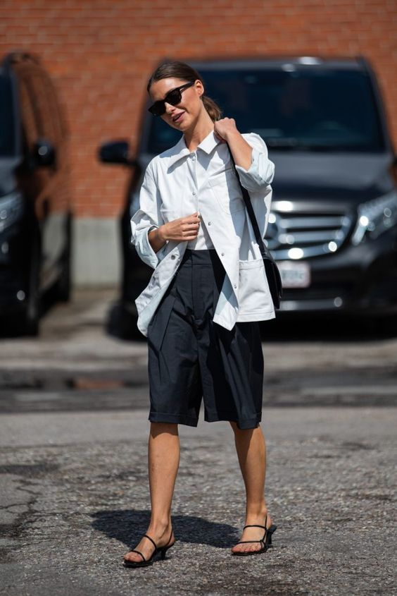 How to transition long shorts from summer to fall