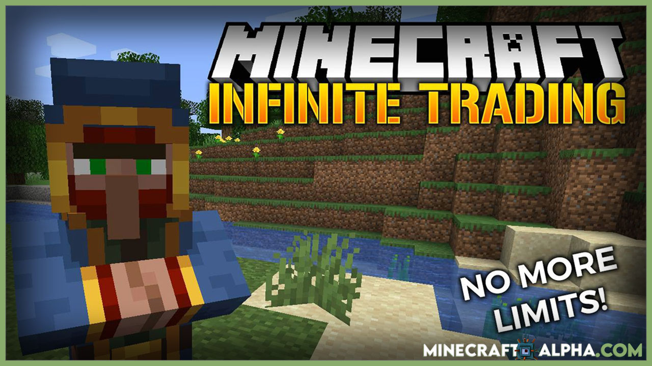 Minecraft Infinite Trading Mod 1.17.1 (No More Limit Trade)