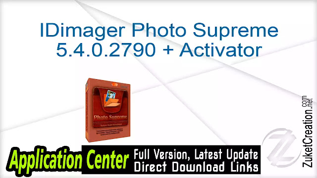 IDimager Photo Supreme 5.4.0.2790 + Activator