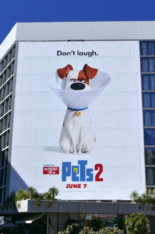 Secret Life Pets 2 billboard