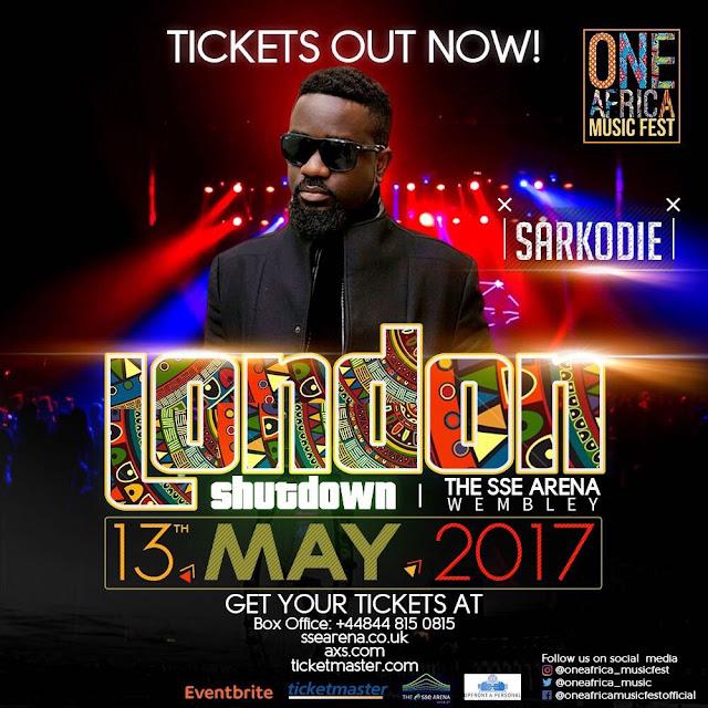 Sarkodie One Africa Music Fest 2017