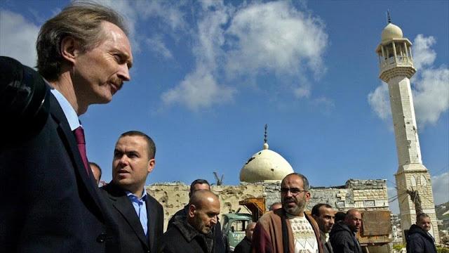 Siria cooperará con nuevo enviado de ONU si no es como De Mistura
