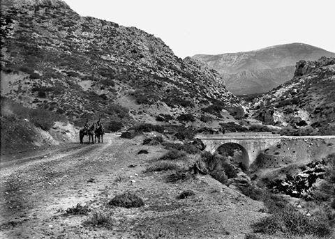 Καζάρμα: Η αρχαιότερη γέφυρα της Ευρώπης στην Αργολίδα μέσα από σπάνιες ασπρόμαυρες φωτογραφίες