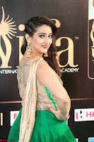 Manjusha in Beautiful Sleeveless Green Anarkali dress at IIFA Utsavam Awards 013.JPG