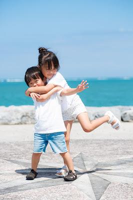 沖縄 家族写真 ロケーションフォト アラハビーチ