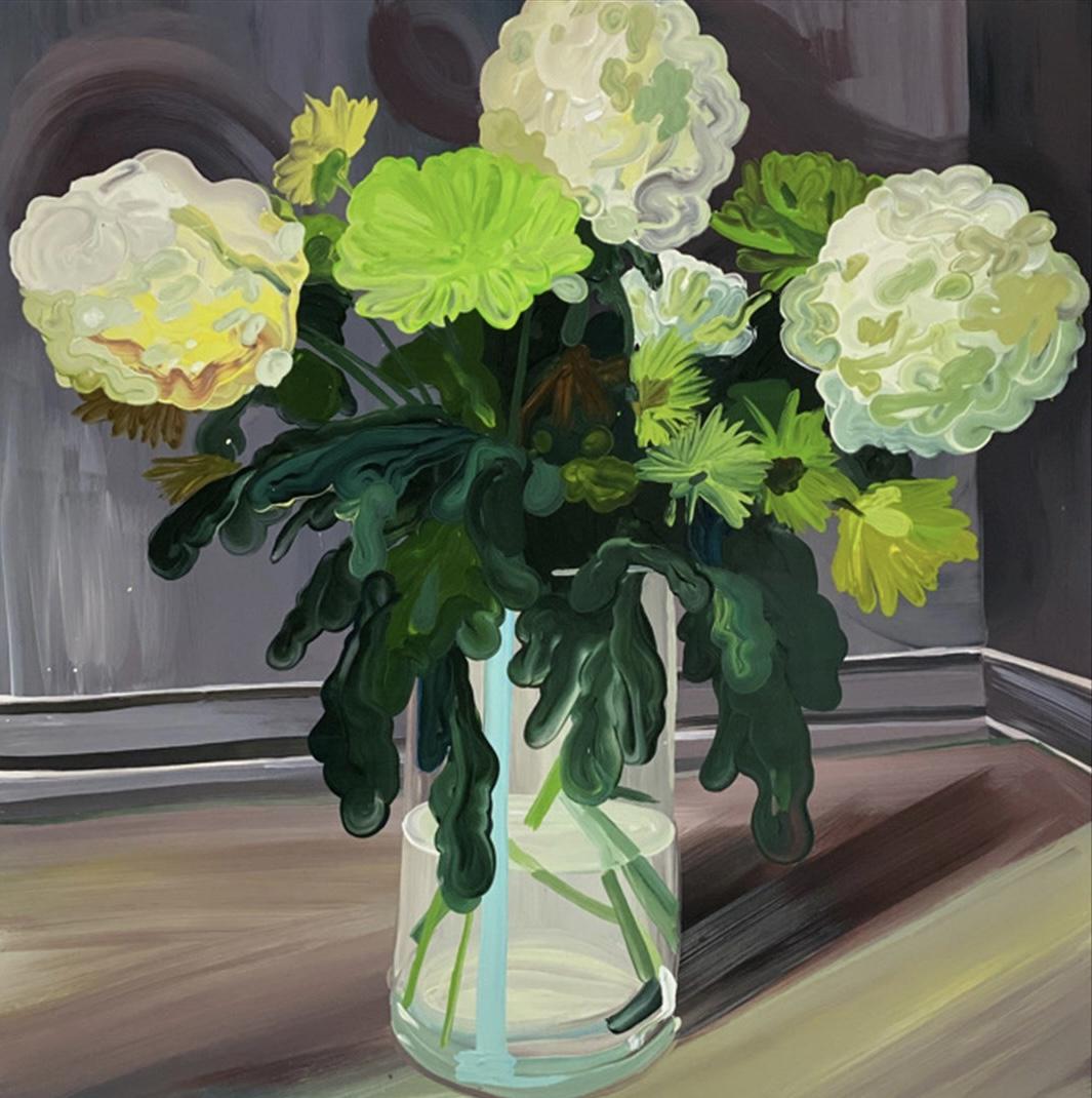 Clare Woods - Dead Again (oil on aluminium) - Royal Academy Summer Exhibition 2021 - London lifestyle & culture blog