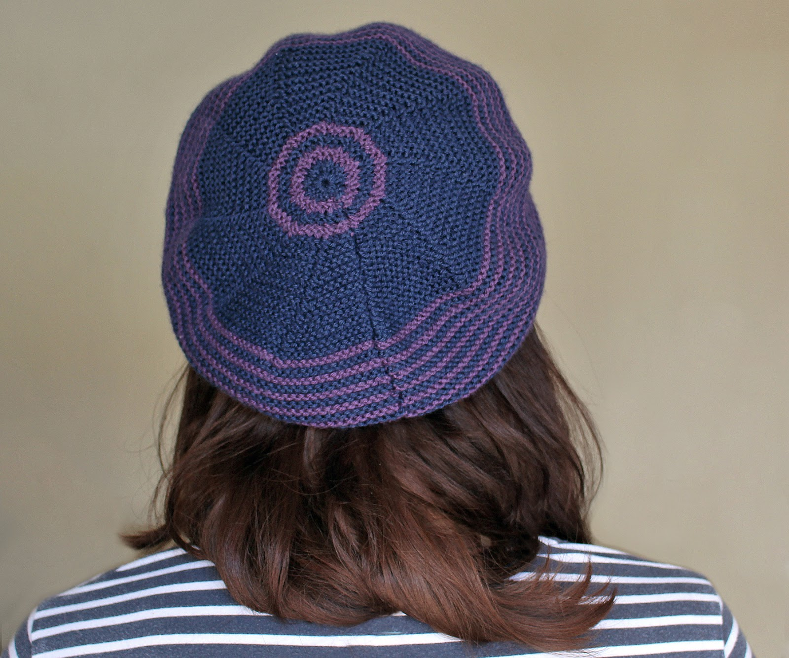 The Butterfly Balcony: Knit It - Sunday Pictorial Beret