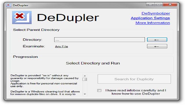 برنامج حذف الملفات المتكررة للكمبيوتر 2016 DeDupler